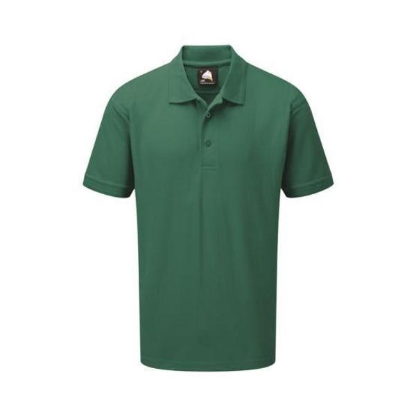 Orn Eagle Premium Polo Shirt, Bottle Green