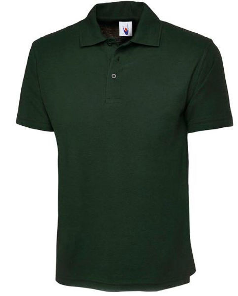 Picture of Uneek Classic Polo Shirt, Bottle Green