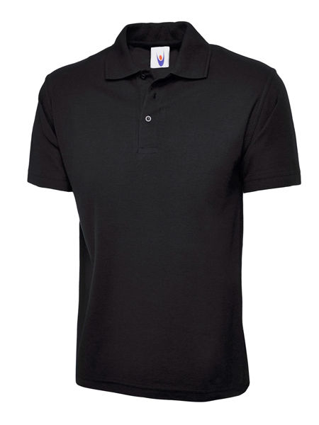 Picture of Uneek Classic Polo Shirt, Black