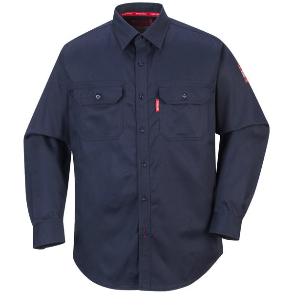 Portwest Bizflame 88/12 FR Shirt, Navy