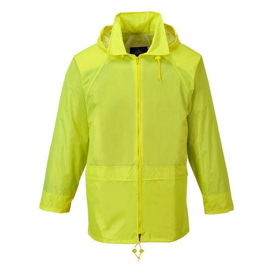Portwest Waterproof Jacket, Yellow