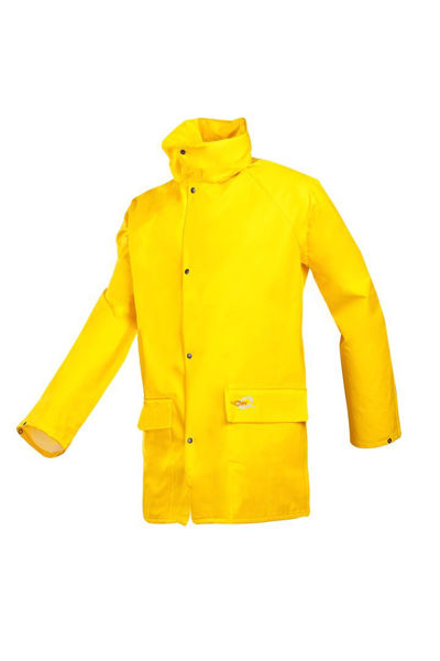Picture of Flexothane Essential Rain Jacket, Yellow Size: Large