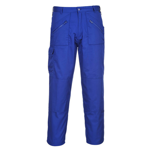 Picture of Portwest Actions Trousers, Royal Blue Size: 30L