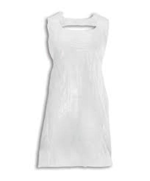 Picture of Medi-Inn Plus Apron, Disposable, 80 x 125cm, 16Mu, (1000 Case) White