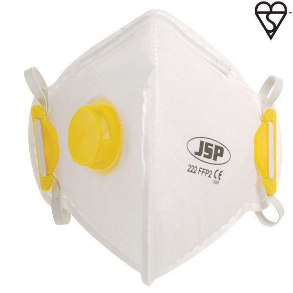 Picture of FFP2 Valved Flat Fold Mask