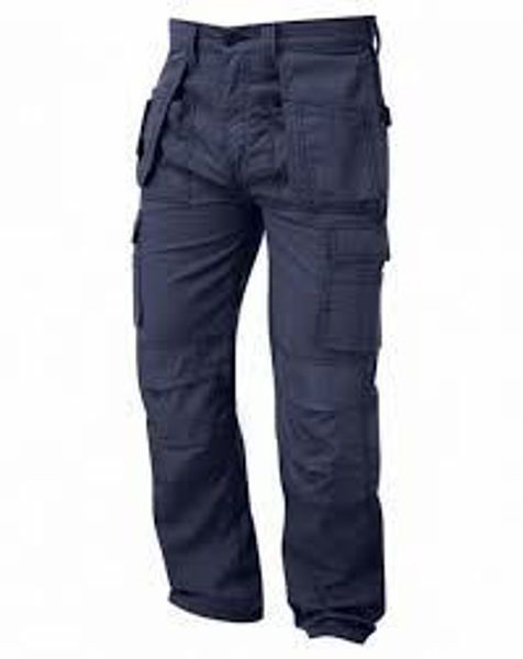 Picture of Orn Merlin Tradesman Trouser, Navy Size:46L
