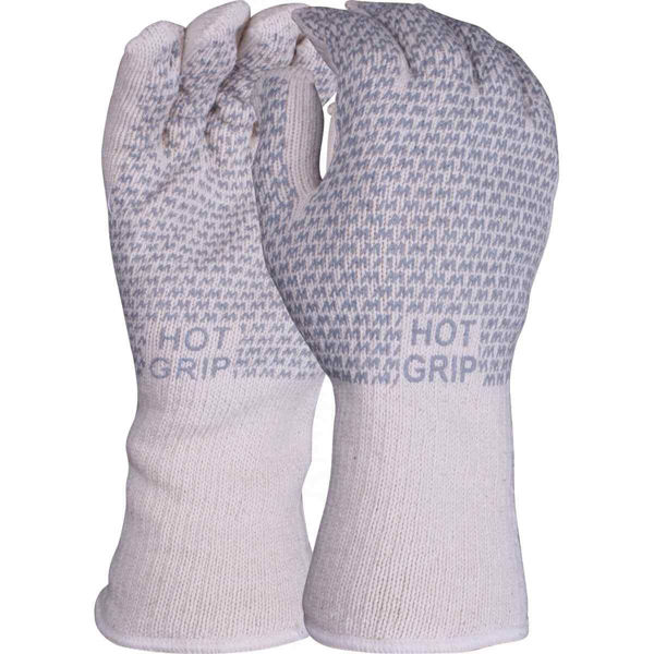 Hot Grip Heat resistant Glvoes, Size: 8 Medium