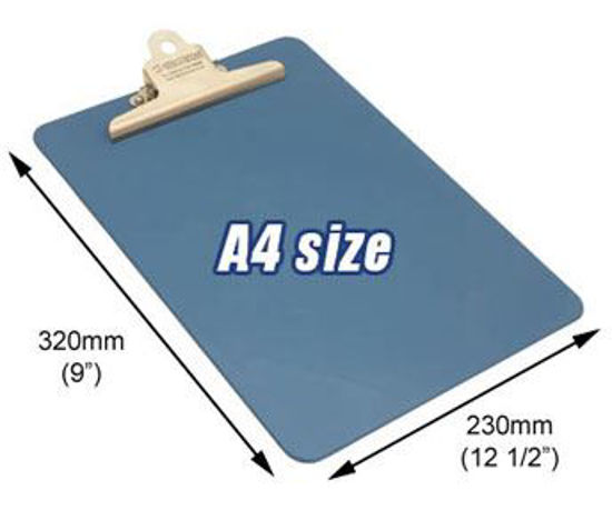 Stainless Steel Clip Board A4 Portrait, Metal Detectable