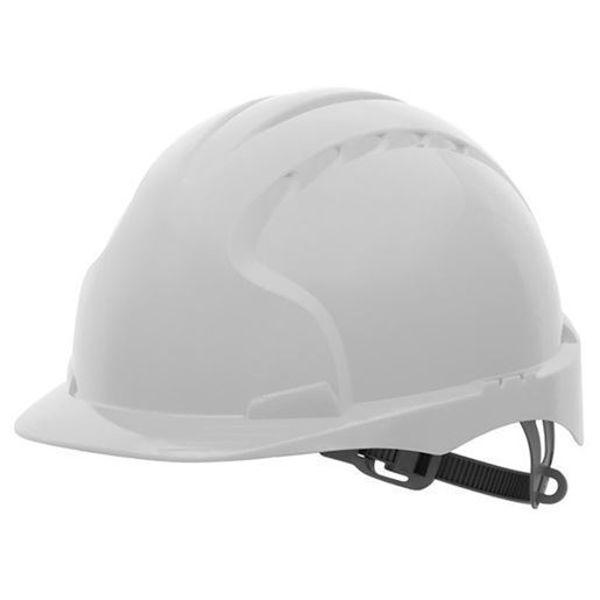EVO®2 Safety Helmet - Slip Ratchet - Vented - White