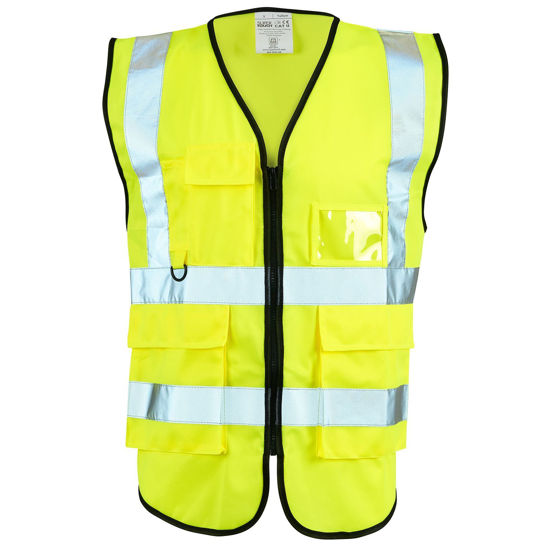 Picture of Supertouch Executive Hivis Vest, Yellow