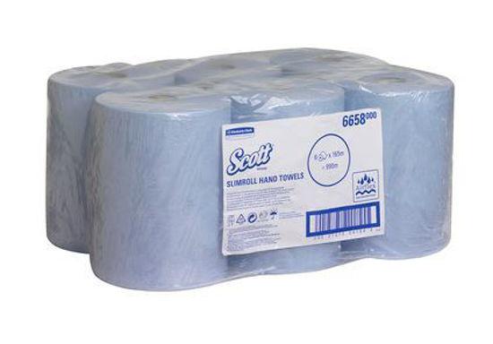 Scott® Slimroll™ Hand Towels - Blue