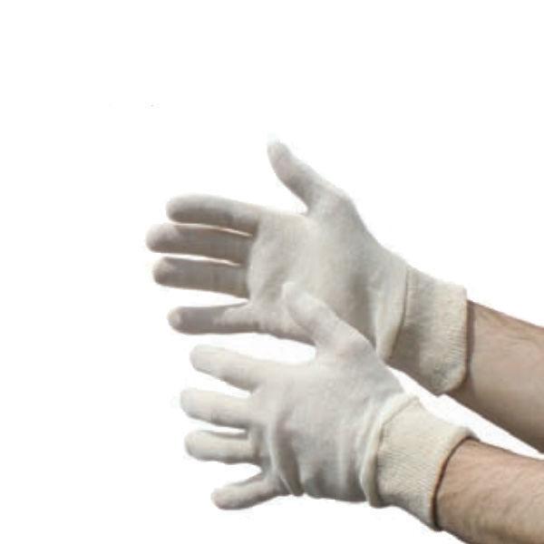 Premium Cotton Glove Interlock with Knit Wrist
