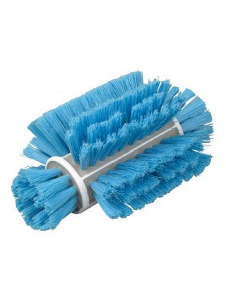 Stiff 216mm Bulk Tank Brush, Blue