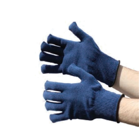 Picture of NAVY THERMAL GLOVES, PAIR, SIZE:LARGE
