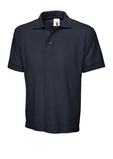 Uneek Premium Navy Polo Shirt