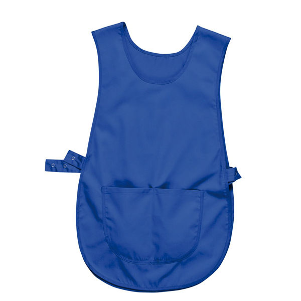 Picture of Portwest Tabard with Pocket, Royal Blue, Size S/M