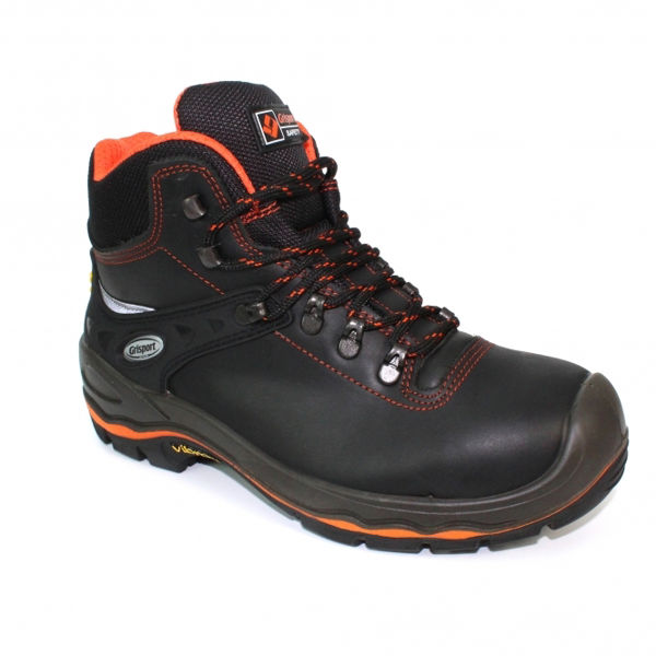 Picture of GRISPORT HAMMER SAFETY BOOT, BLACK SIZE:45