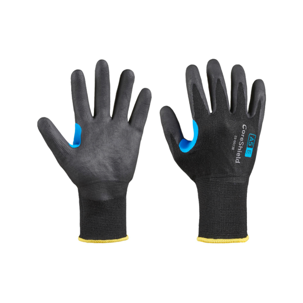 Honeywell CoreShield, 13 Gauge HPPE/Stainless Steel Black Liner Cut Glove