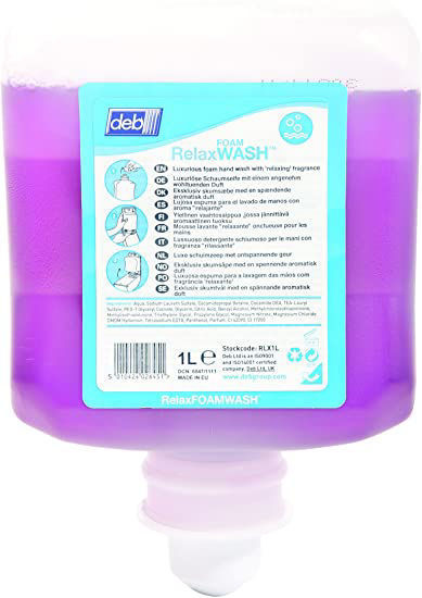 Picture of Luxurious Gentle Foam Wash with 'Relaxing' Fragrance, 1L (6)