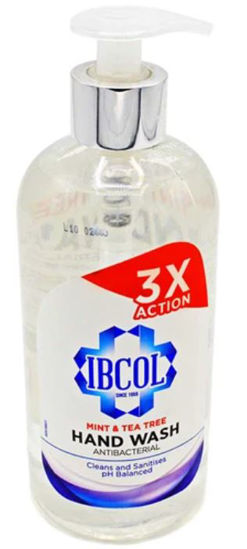 Picture of IBCOL, ANTI BAC SOAP, PUMP TOP, 500ml, EACH