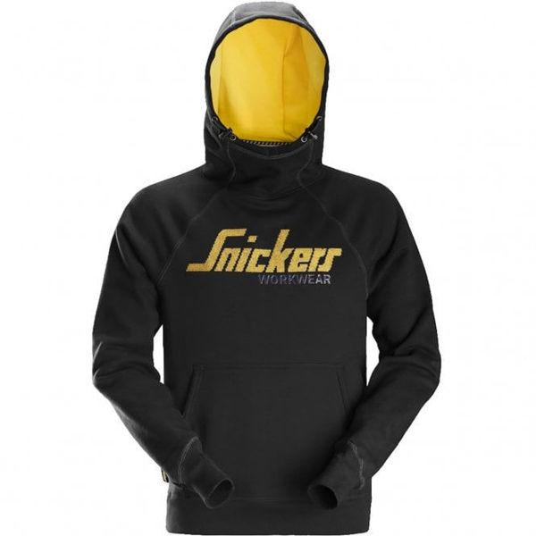 Snickers Logo Hoodie, Black
