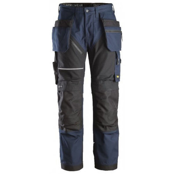 Snickers 6214 RuffWork Canvas+ Holster Pocket Trousers   Snickers Trousers