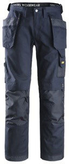 Craftsmen Trousers Canvas+, Navy (39S) W/Holster Pockets