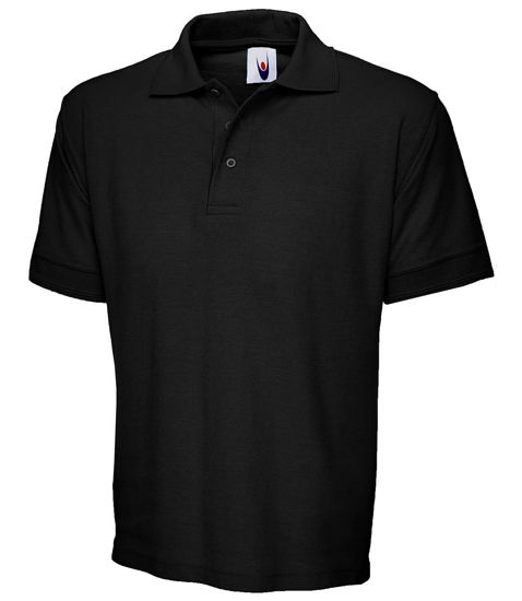 Picture of Uneek Premium Polo Shirt, Black