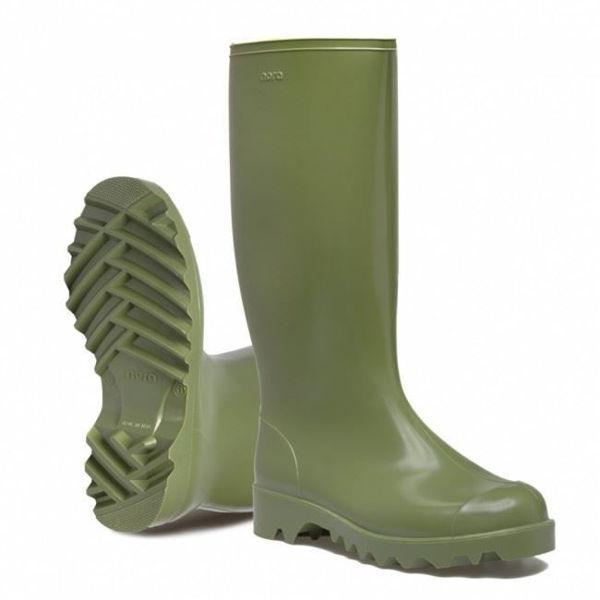 Picture of Nora Dolomit Green Pvc Wellington, Size: 14 (EU:49)