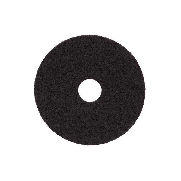 17 Inch Floor Maintenance Pads, Black