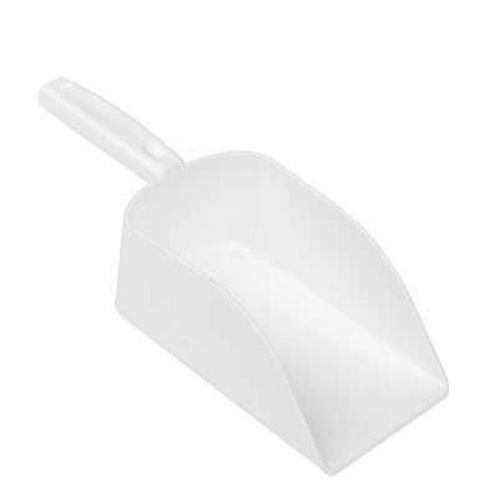 195mm Seamless Hand Scoop, White