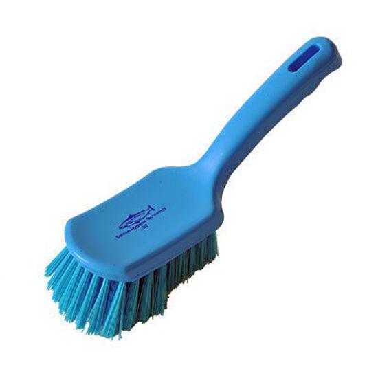 254mm Medium Fill Short Handle Brush Blue