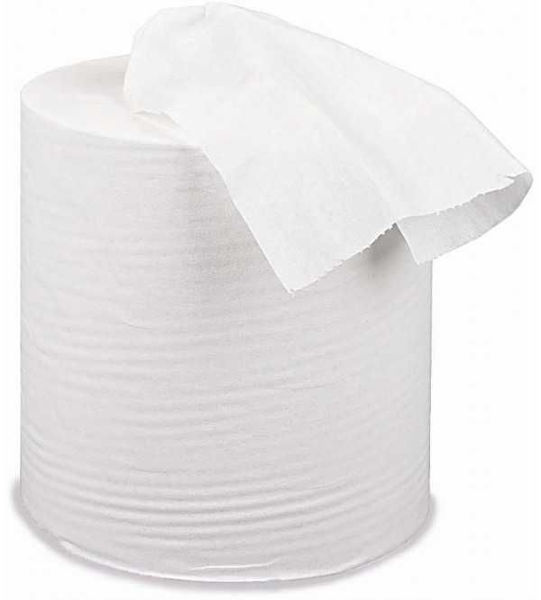 2Ply White Centrefeed Roll, 150m X 190mm, Case