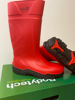 Picture of Bodytech Safegrip S4 Red Safety Wellington, SRC