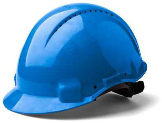 3M Peltor Safety Helmet Vented, Blue