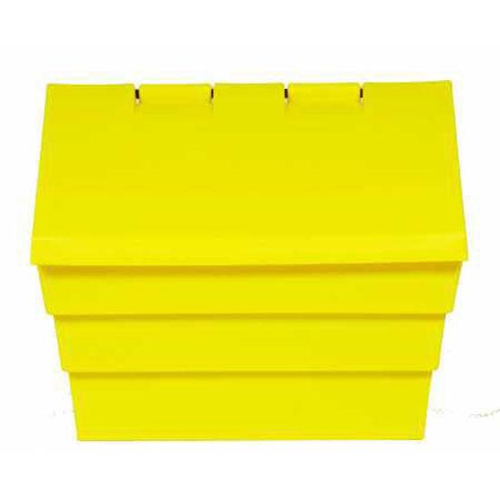 50kg Grit/Salt Bin, Yellow