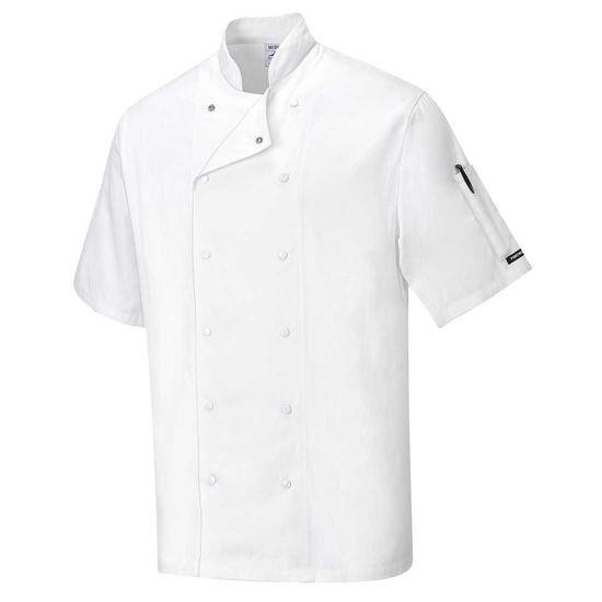 Aberdeen Chefs Jacket, White