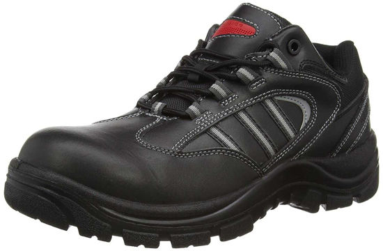 Airside Unisex Adults Safety Shoe, Blac