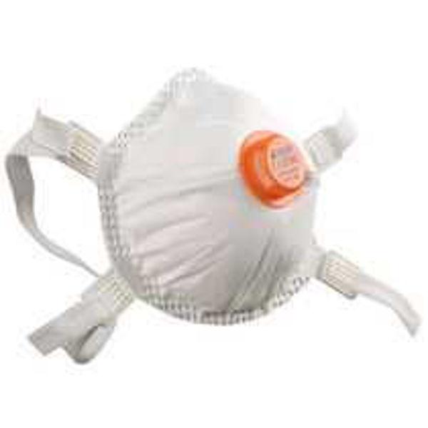 Alpha Solway 3020V Valved FFP2 Dust Mask, Each