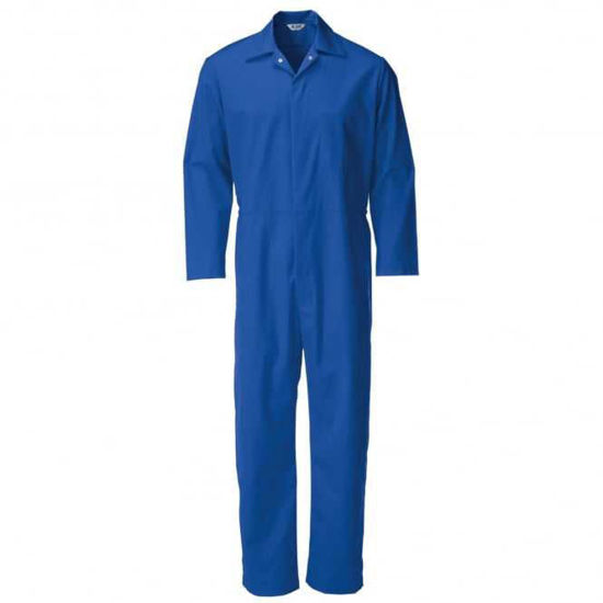 Alsico Food Trade Coverall, Royal Blue, Size 140cm