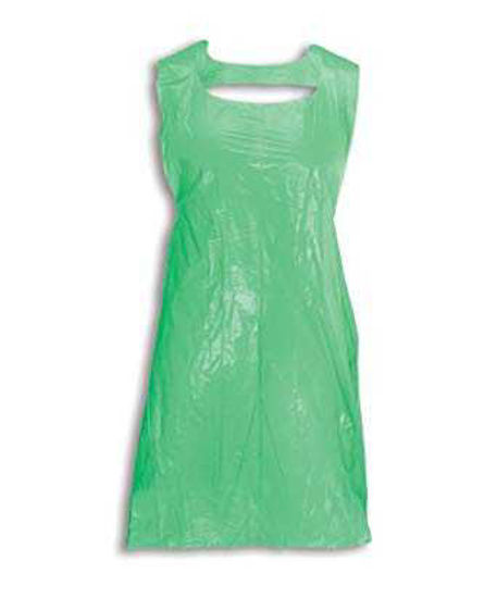 Disposable Apron, On-A-Roll (500 Case), Green 69x138
