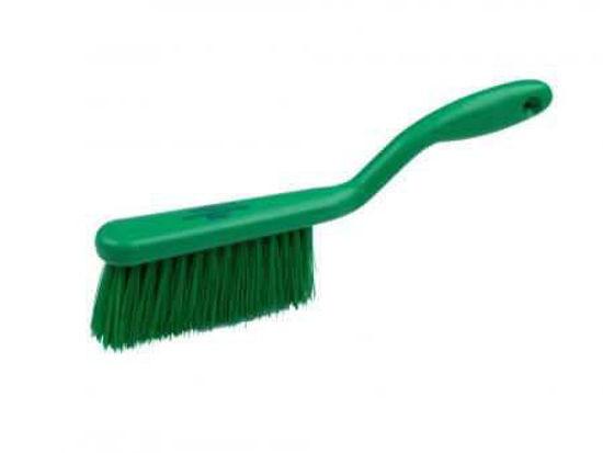Banister Brush, Crimped Polyester, Green