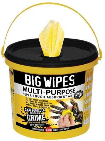 Big Wipes Wet Multi-Purpose Wipes, 300 Wipes