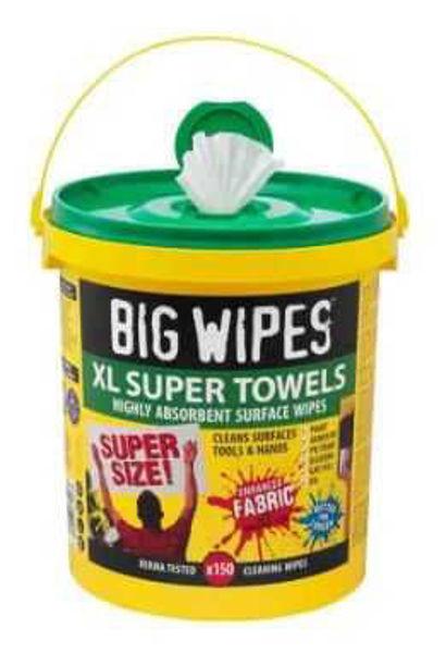 Big Wipes, Big Wipes Wet Multi-Purpose Wipes, 150 Wipes