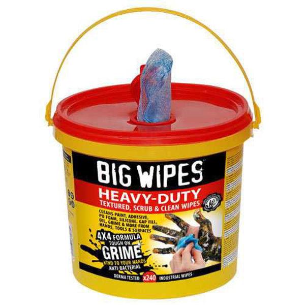 Big Wipes, Heavy- Duty Wipes, 240 Wipes