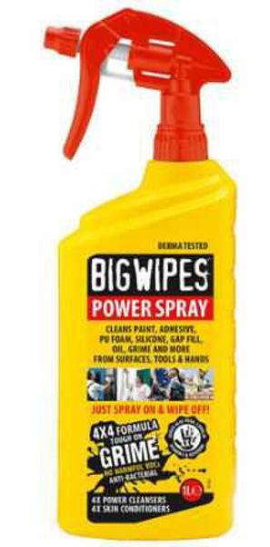 Big Wipes, Power Spray Trigger Spray , 1Ltr,