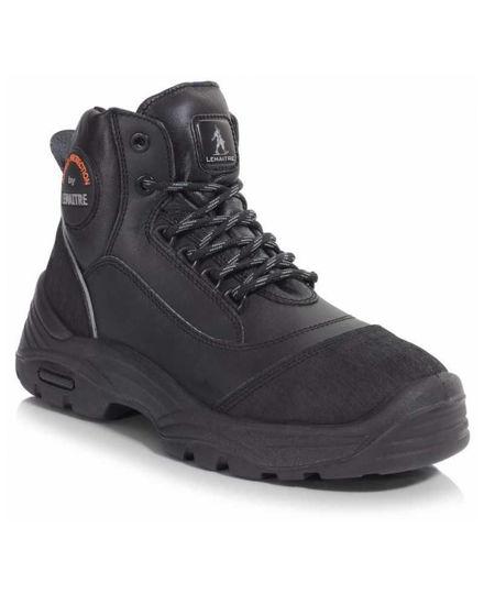 Bilder Parabolic Black Laced Boot,  Size:8  S3 SRC