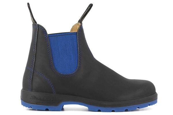 Blundstone Heritage Black & Blue Slip On Boot
