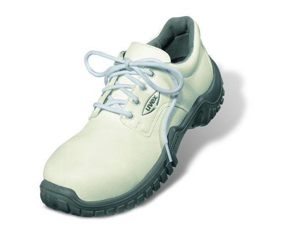 Uvex Xenova Hygiene White Laced Shoe