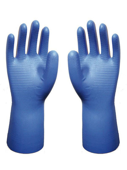 Picture of Showa Best Nitrile Gloves, Blue